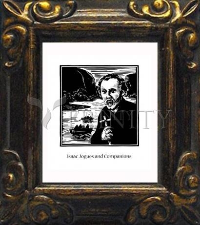 Mini Magnet Frame - St. Isaac Jogues and Companions by J. Lonneman