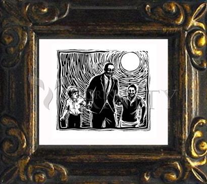 Mini Magnet Frame - Martin Luther King's Dream by J. Lonneman