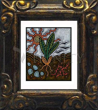 Mini Magnet Frame - Parable of the Seed by J. Lonneman