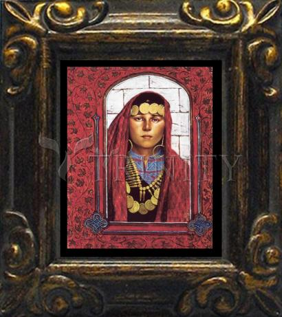 Mini Magnet Frame - St. Mary Magdalene by L. Glanzman
