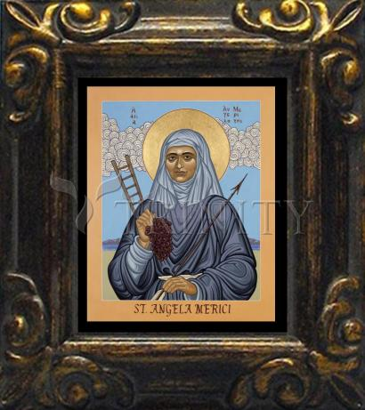 Mini Magnet Frame - St. Angela Merici by L. Williams