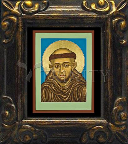 Mini Magnet Frame - St. Francis of Assisi by L. Williams