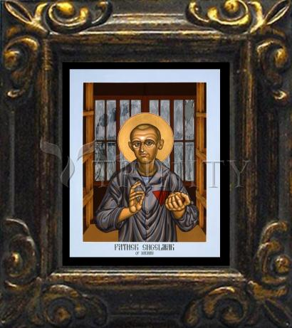 Mini Magnet Frame - Fr. Engelmar Hubert Unzeitig by L. Williams