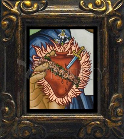 Mini Magnet Frame - Immaculate Heart of Mary by L. Williams