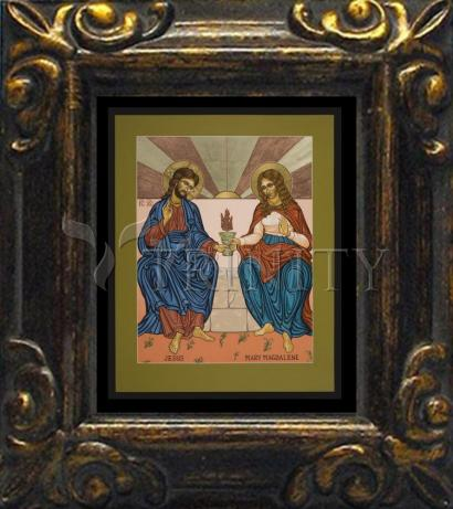 Mini Magnet Frame - Jesus and Mary Magdalene by L. Williams