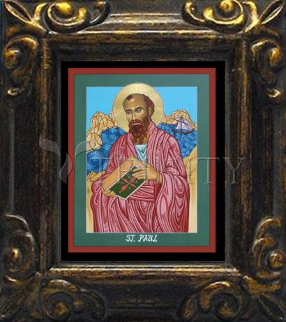 Mini Magnet Frame - St. Paul of the Shipwreck by L. Williams