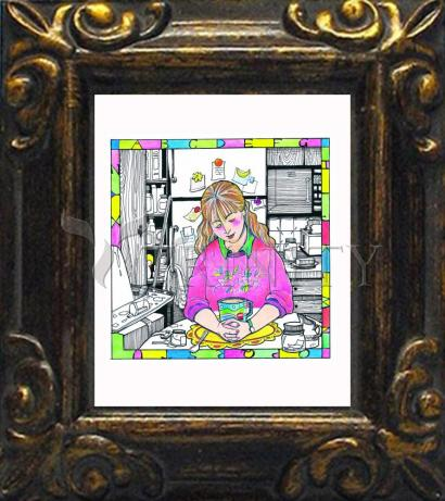 Mini Magnet Frame - St. Anna the Prophetess by M. McGrath