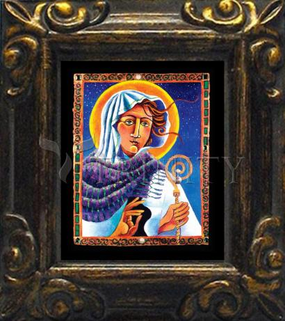 Mini Magnet Frame - St. Brigid by M. McGrath