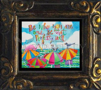 Mini Magnet Frame - Be Who You Are by M. McGrath