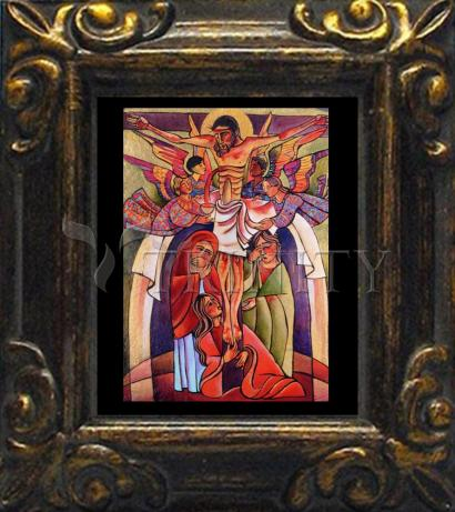 Mini Magnet Frame - Crucifixion by M. McGrath