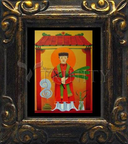 Mini Magnet Frame - St. Andrew Dung-Lac by M. McGrath