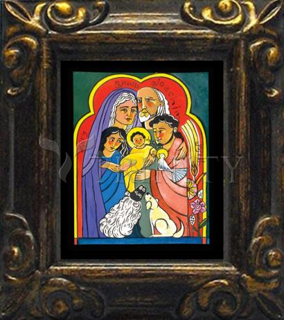 Mini Magnet Frame - Extended Holy Family by M. McGrath