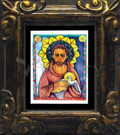 Mini Magnet Frame - St. Francis of Assisi by M. McGrath