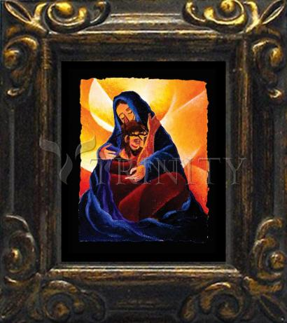 Mini Magnet Frame - 4th Station, Jesus Meets His Mother by M. McGrath