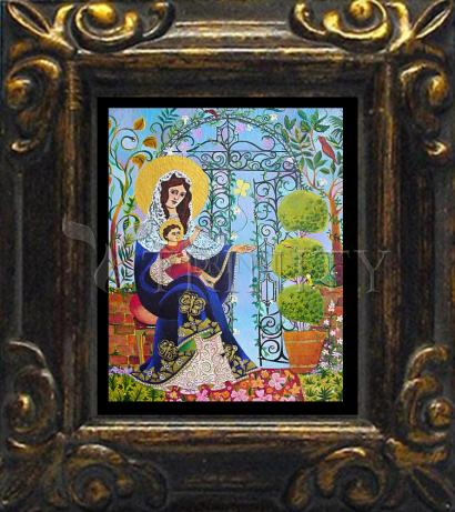 Mini Magnet Frame - Mary, Gate of Heaven by M. McGrath