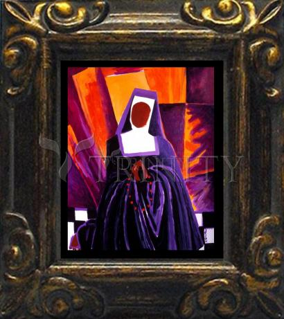 Mini Magnet Frame - Sr. Thea Bowman: Give Me That Old Time Religion by M. McGrath