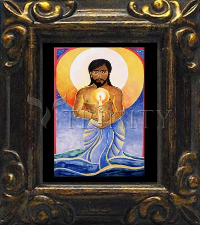 Mini Magnet Frame - Jesus: Light of the World by M. McGrath