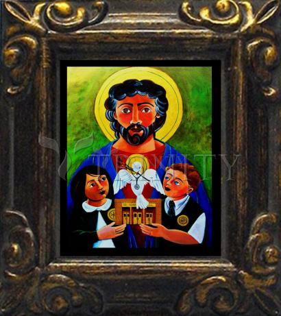 Mini Magnet Frame - St. Luke the Evangelist by M. McGrath