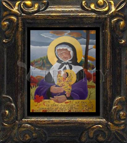 Mini Magnet Frame - St. Marguerite Bourgeoys by M. McGrath
