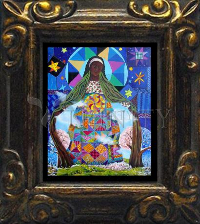 Mini Magnet Frame - Mary, Our Lady of Refuge by M. McGrath