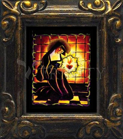 Mini Magnet Frame - St. Margaret Mary Alacoque by M. McGrath