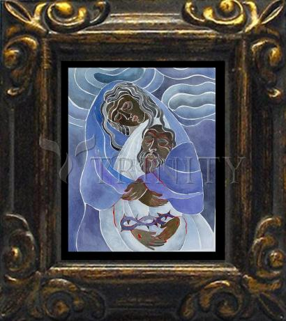 Mini Magnet Frame - Mary, Mother of Sorrows by M. McGrath