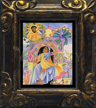 Mini Magnet Frame - St. Mary Magdalene at the Tomb by M. McGrath