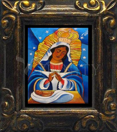 Mini Magnet Frame - Our Lady of Altagracia by M. McGrath