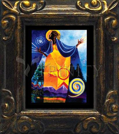 Mini Magnet Frame - Queen of Heaven, Mother of Earth by M. McGrath