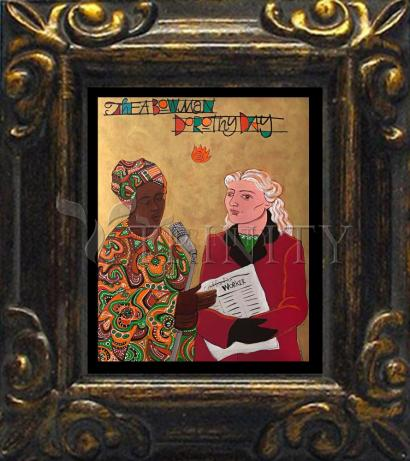 Mini Magnet Frame - Sr. Thea Bowman and Dorothy Day by M. McGrath