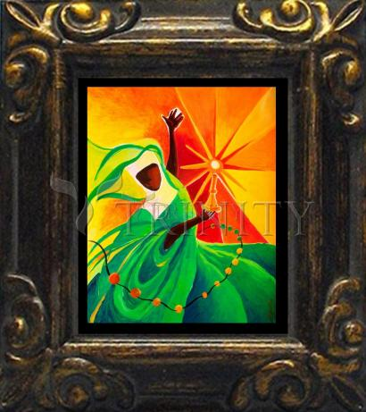 Mini Magnet Frame - Sr. Thea Bowman: This Little Light Of Mine by M. McGrath