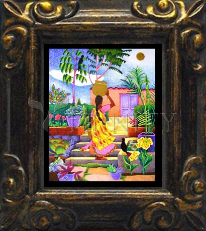 Mini Magnet Frame - Woman at the Well by M. McGrath