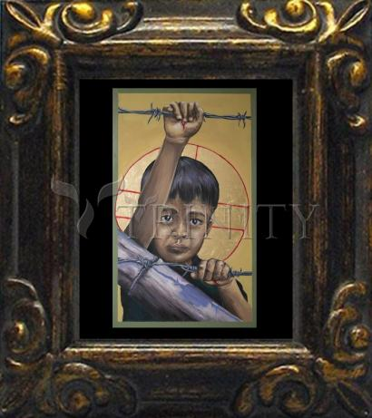 Mini Magnet Frame - Christ the Dreamer by M. Reyes