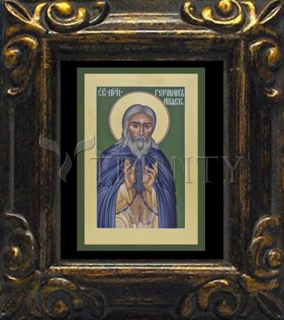 Mini Magnet Frame - St. Herman of Alaska by R. Lentz