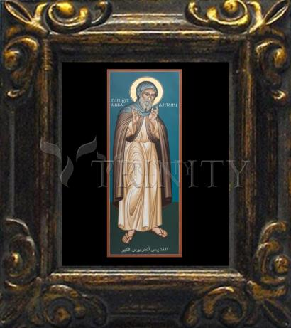 Mini Magnet Frame - St. Antony of Egypt by R. Lentz