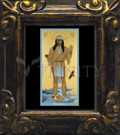 Mini Magnet Frame - Apache Christ by R. Lentz