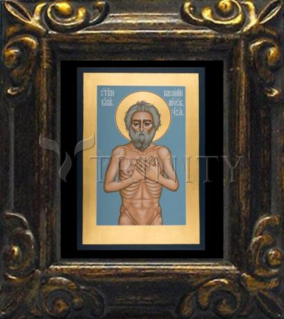 Mini Magnet Frame - St. Basil the Blessed of Moscow by R. Lentz