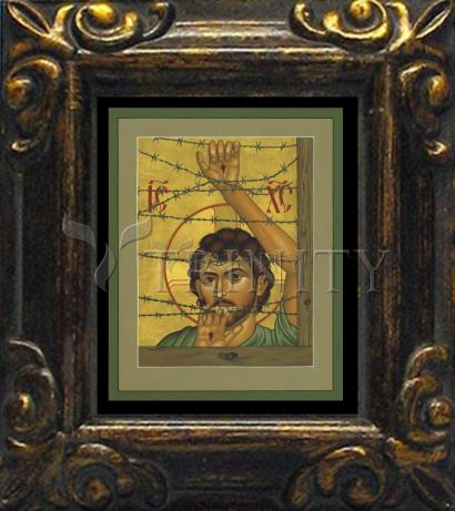 Mini Magnet Frame - Christ of Maryknoll by R. Lentz