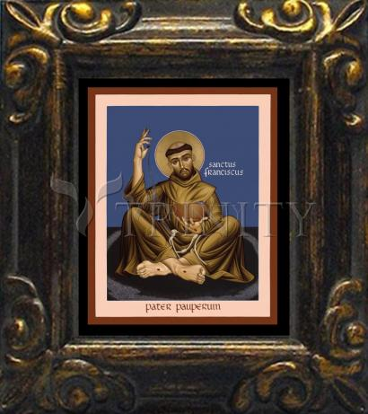 Mini Magnet Frame - St. Francis, Father of the Poor by R. Lentz