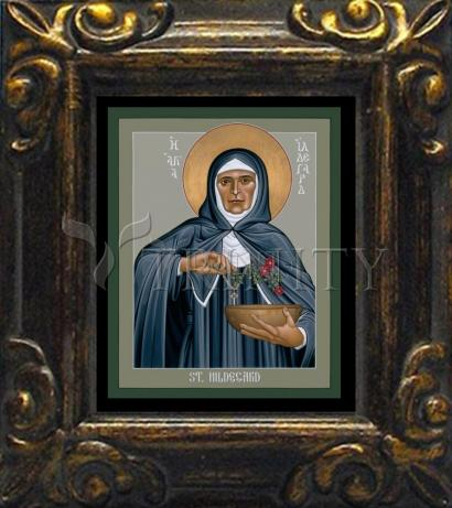 Mini Magnet Frame - St. Hildegard of Bingen by R. Lentz