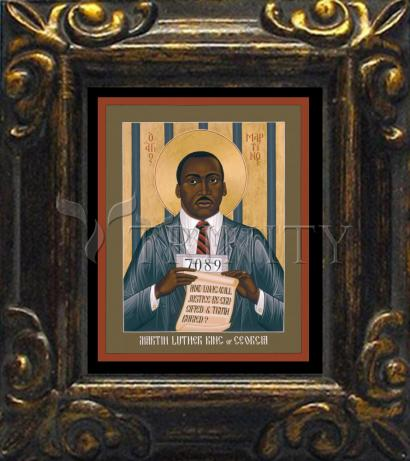 Mini Magnet Frame - Martin Luther King of Georgia by R. Lentz