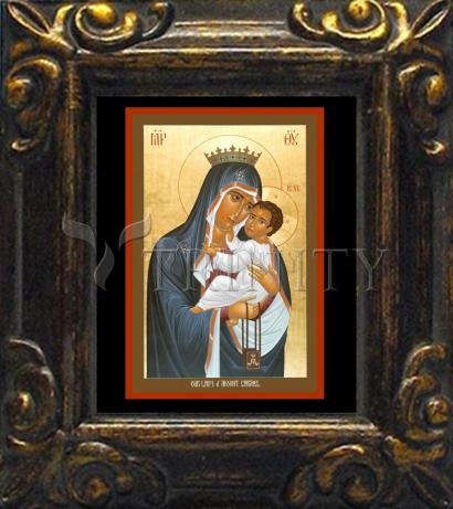 Mini Magnet Frame - Our Lady of Mt. Carmel by R. Lentz