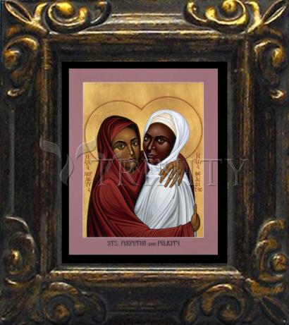 Mini Magnet Frame - Sts. Perpetua and Felicity by R. Lentz