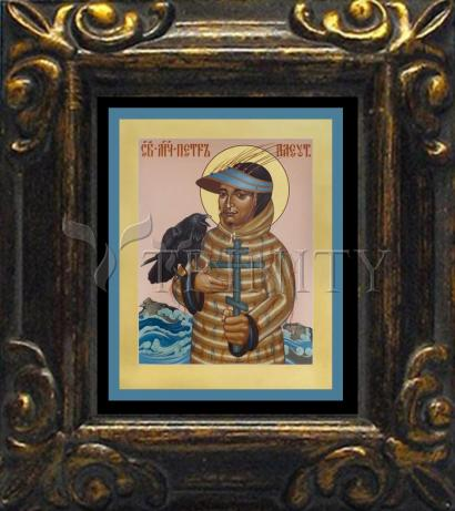 Mini Magnet Frame - St. Peter the Aleut by R. Lentz