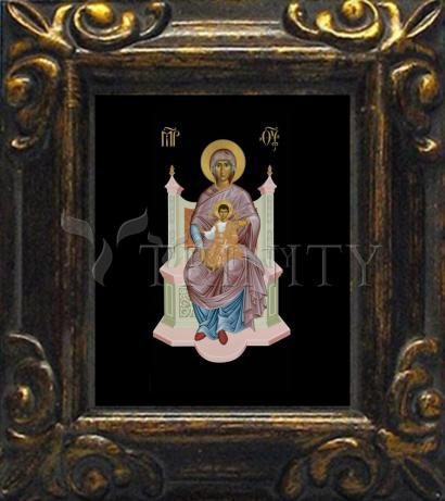 Mini Magnet Frame - Queen of Heaven by R. Lentz