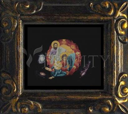 Mini Magnet Frame - Holy Trinity by R. Lentz