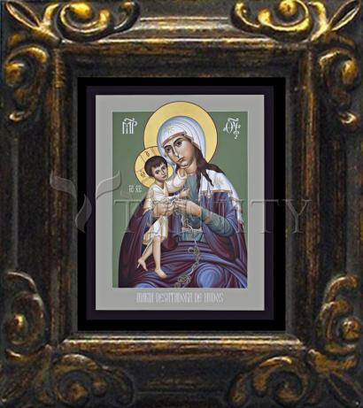 Mini Magnet Frame - Mary, Undoer of Knots - Spanish by R. Lentz