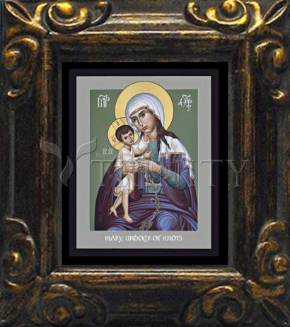 Mini Magnet Frame - Mary, Undoer of Knots by R. Lentz