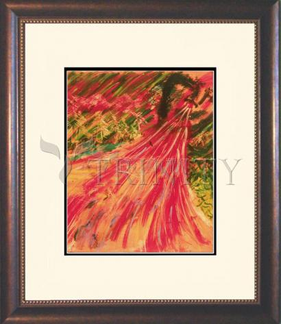 Wall Frame Double Mat Gold - Breath Of Life by B. Gilroy