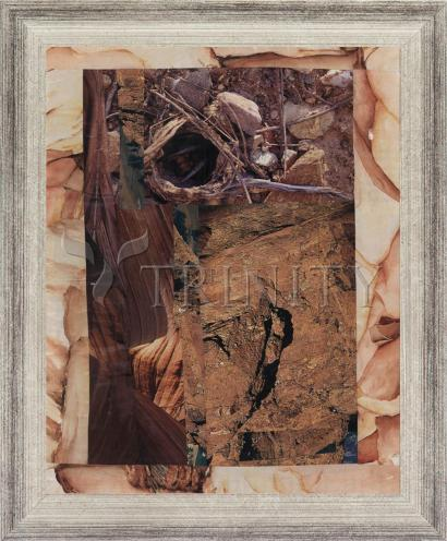 Wall Frame Silver Flat - Empty Tomb by B. Gilroy